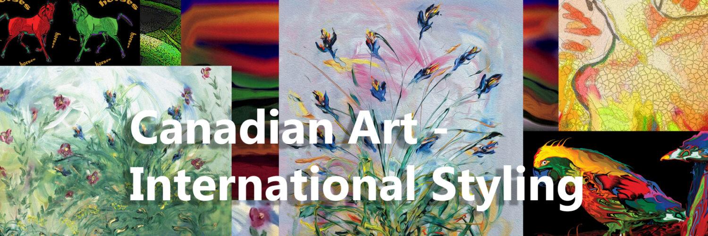 Canadian Art - International Styling!